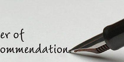 گرفتن توصیه نامه ی Recommendation Letter مناسب از اساتید نقش مهمی در پروسه ی اخذ پذیرش دارد.