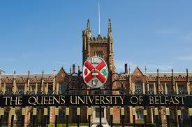 بورسیه تحصیلی دانشگاه کوئینز بلفاست انگلستان ( Queen's University Belfast )