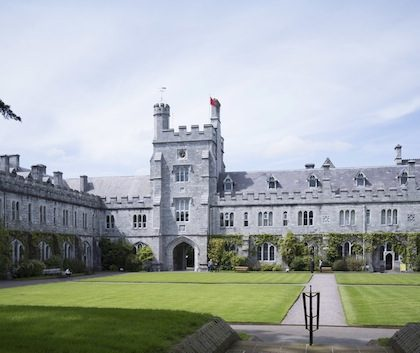 FREE IMAGE-NO REPRO FEE. Main Quadrangle, University College Cork. Photo by Tomas Tyner, UCC.