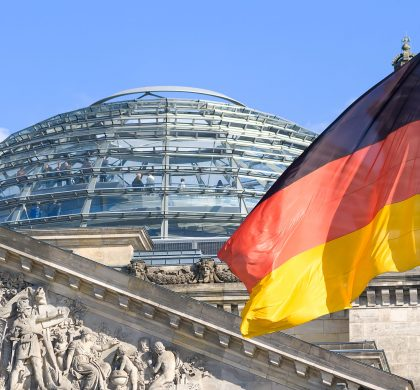 Reichstag building. Germany.