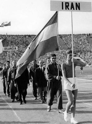 تاریخچه حضور ایران در المپیک
