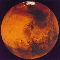 قرمز رنگ بودن مریخ