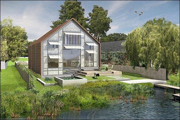 خانه های مقاوم در برابر سیل
