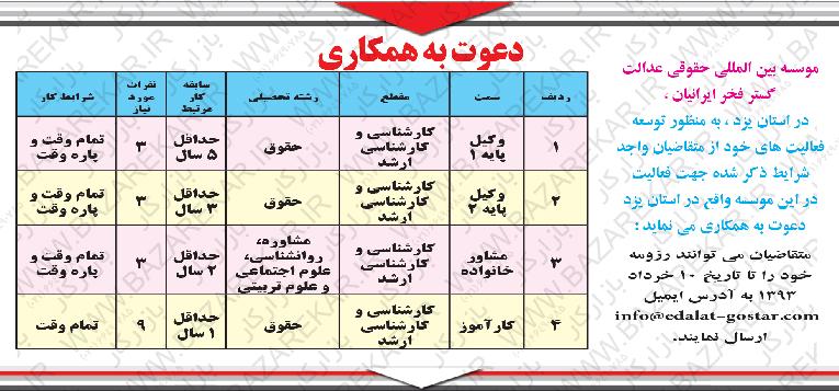 کانال+تلگرام+استخدام+استان+یزد